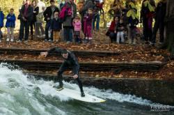 Surfen im Eisbach