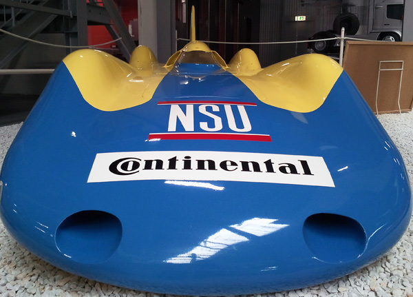 NSU Hochgeschwindigkeitsauto