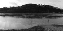 Lahnpanorama bei Hochwasser in Wehrda