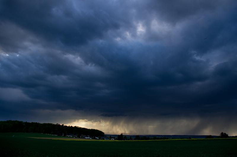 Gewitter über Reichelsheim