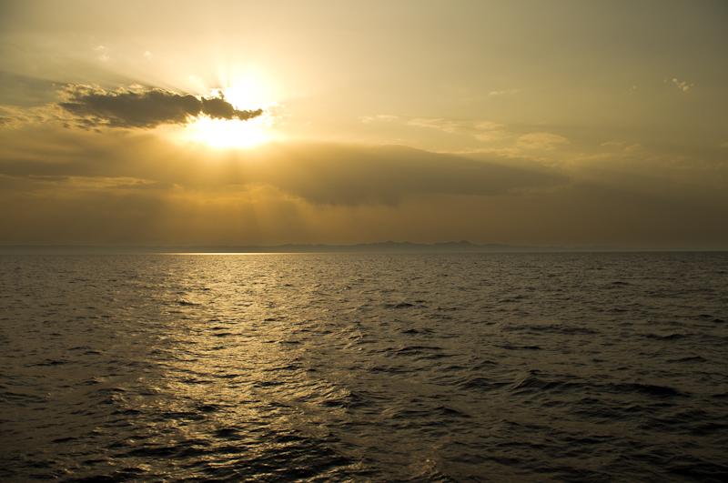 Sonnenuntergang über El Gouna