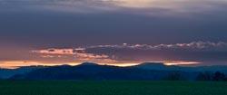 Sonnenuntergang in Wetter