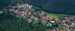Luftaufnahmen über Nordhessen und Edersee