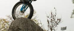 Trial Bike im Olympiapark München