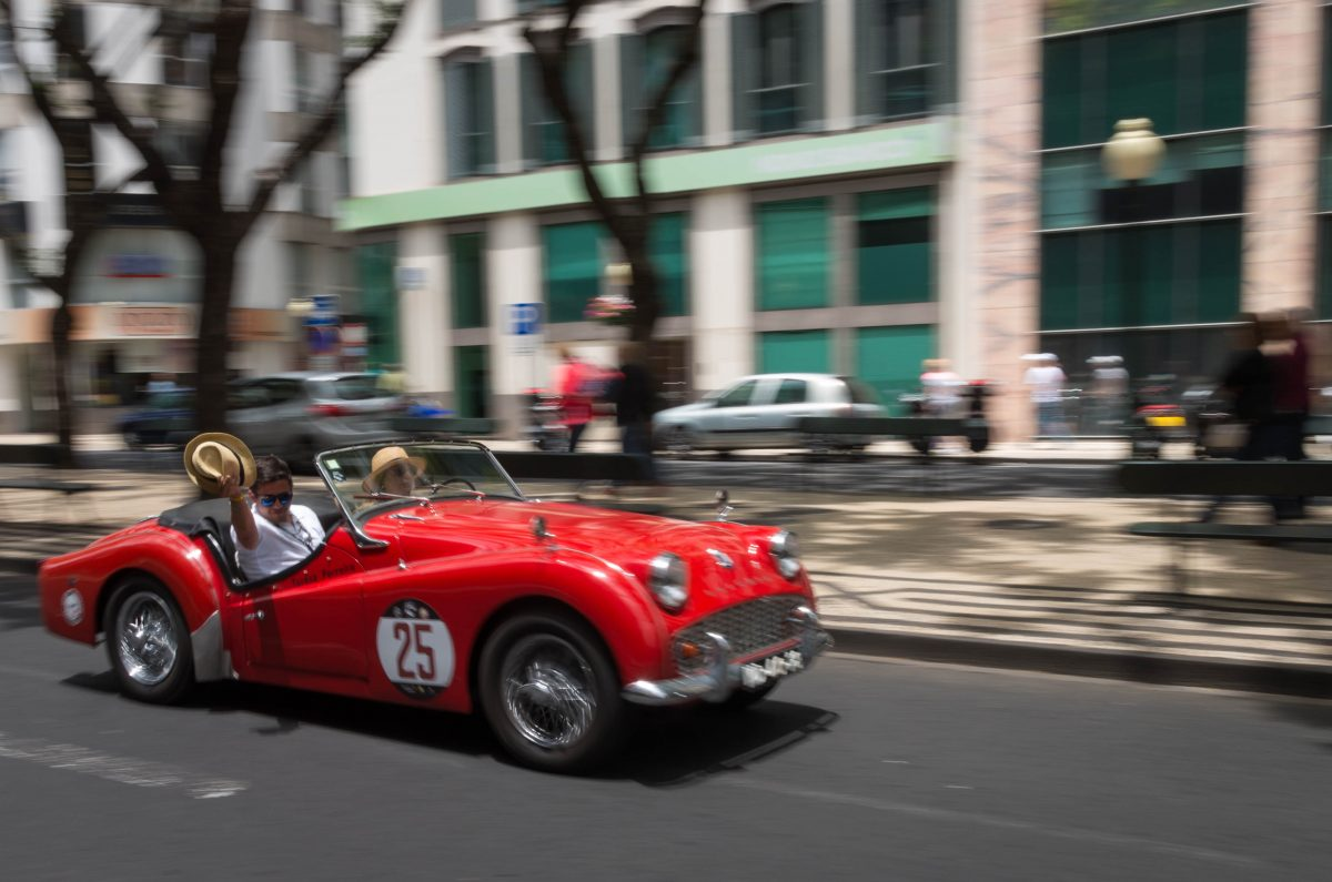 Madeira Classic Car revival 2018 in Funchal/Madeira